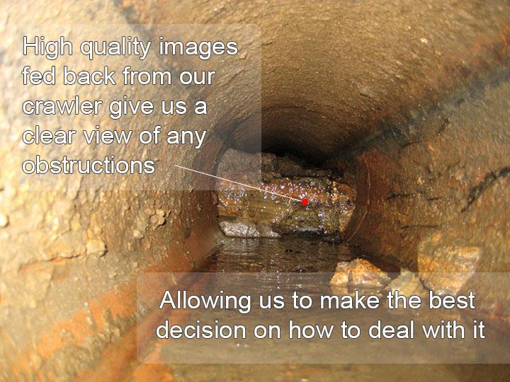 CCTV Drain Survey Image